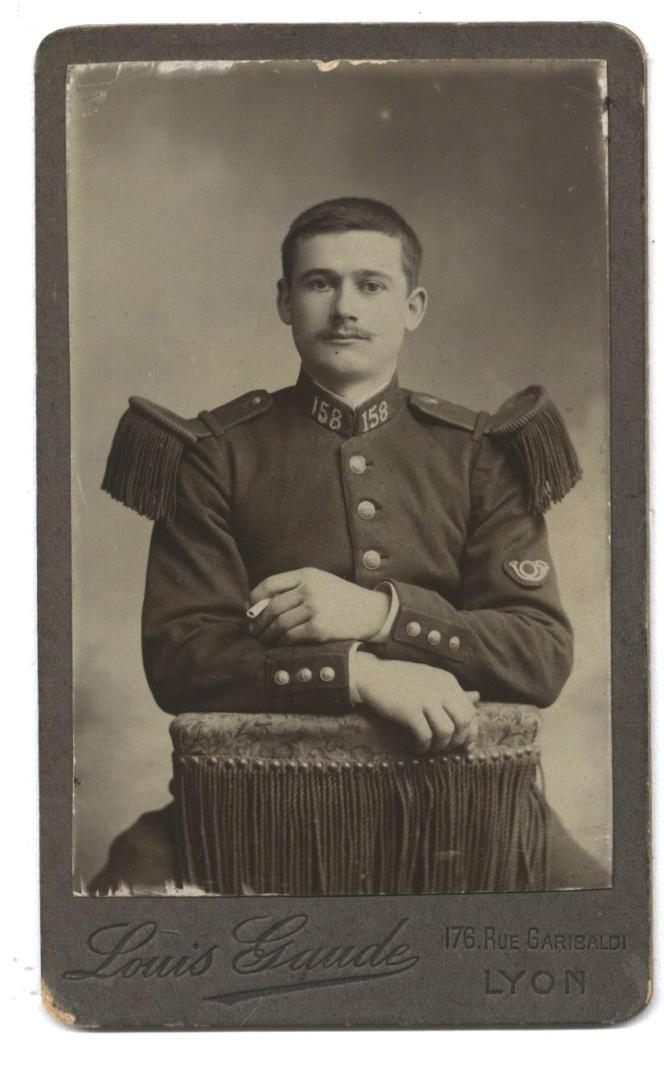 Emilien Marius Dubourg, tombé pour la France en 1915.