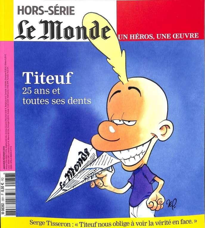 « Titeuf, 25 ans et toutes ses dents », un hors-série du « Monde », 122 pages, 8,50 €, en kiosques sur Boutique.lemonde.fr.