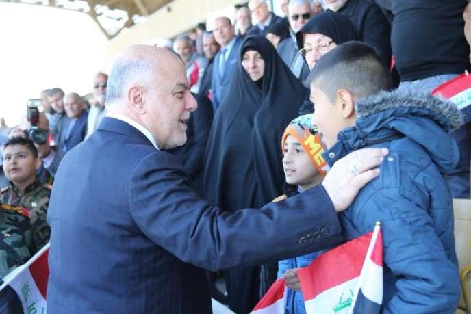 Haïder Al-Abadi à Bagdad, en décembre 2017.