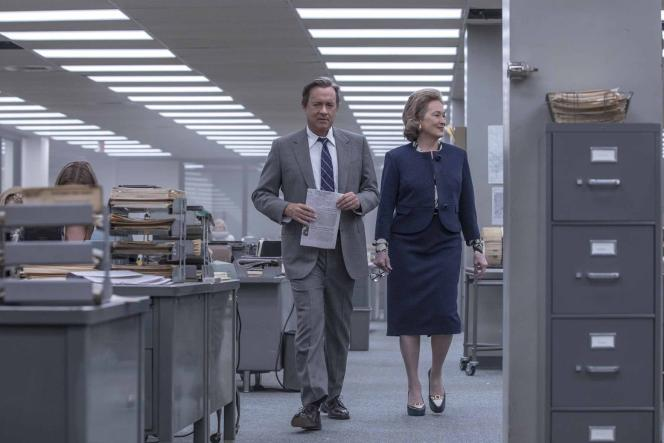 Tom Hanks et Meryl Streep dans« Pentagon Papers», de Steven Spielberg.
