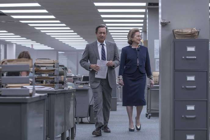 Tom Hanks et Meryl Streep dans « Pentagon Papers », de Steven Spielberg.