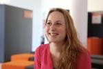 Sidonie Babron,fondatrice de la start-up d'aide à l'orientation Elan.