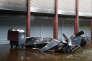 Les débris de l'épicerie cacher Promo & Destock après l'incendie, à Créteil, le 9 janvier.