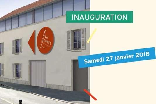 La Maison du conte rénovée ouvre ses portes à Chevilly-Larue, le samedi 27 janvier 2018.