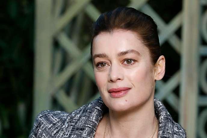 L'ancienne danseuse étoile et directrice de la danse à l'Opéra de Paris, Aurélie Dupont, à Paris en janvier 2018.