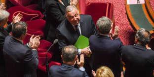 Gérard Larcher, président du Sénat, au Palais du Luxembourg, à Paris, le 2 octobre2017.