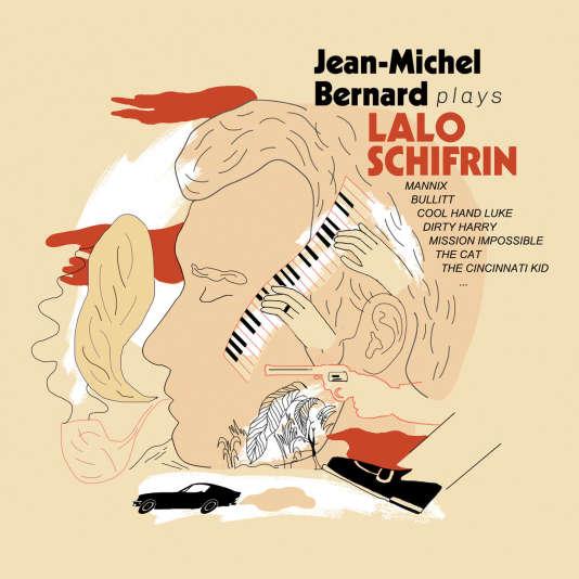 Pochette de l'album« Plays Lalo Schifrin », de Jean-Michel Bernard.
