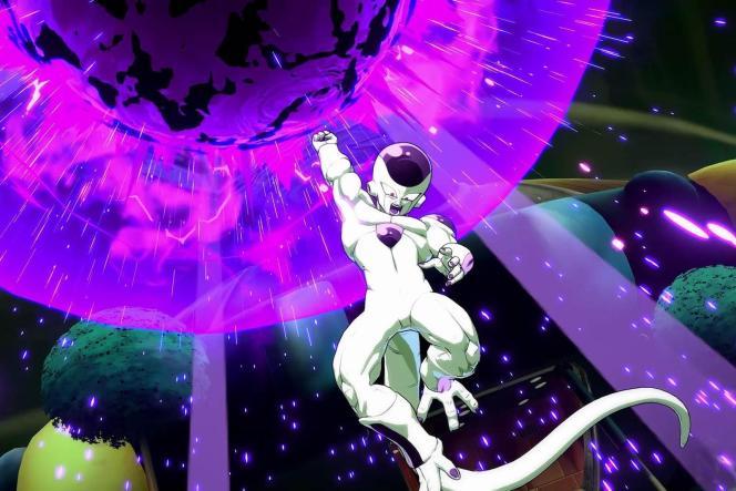 Une fois sa jauge de ki remplie, il suffit d'une manipulation simple pour déclencher une attaque dévastatrice inspirée du dessin animé.