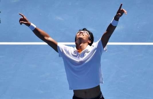 Hyeon Chung sera opposé à Federer, dans le dernier carré de l'Open d'Australie.