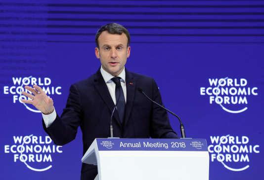 Emmanuel Macron connaît bien Davos, où il était déjà venu en janvier2016 en tant que ministre de l'économie de François Hollande.