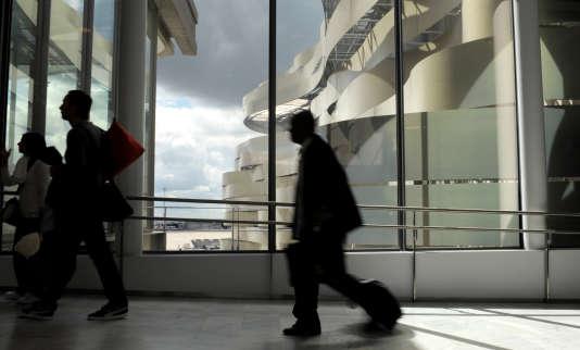 L'aéroport de Roissy, Paris Charles-de-Gaulle, le 11 avril 2012.