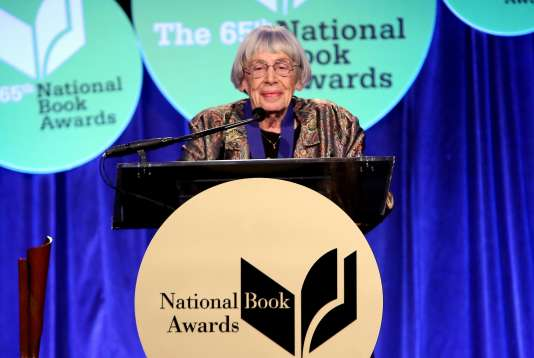 Ursula K. Le Guin à New York,le 19 novembre 2014.