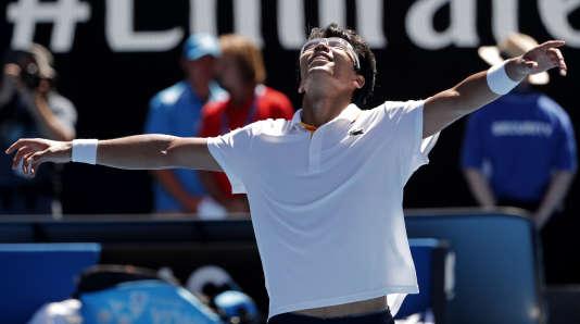 Chung Hyeon affontera Roger Federer en demi-finale de l'Open d'Australie.