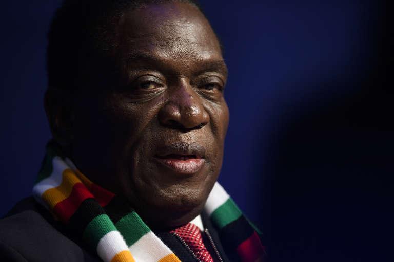 Emmerson Mnangagwa asuccédé à Robert Mugabe en novembre à la suite d'un coup de force militaire.