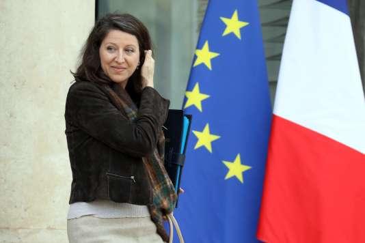 La ministre de la santé et des solidarités, Agnès Buzyn, à la sortie de l'Elysée le 24 janvier.
