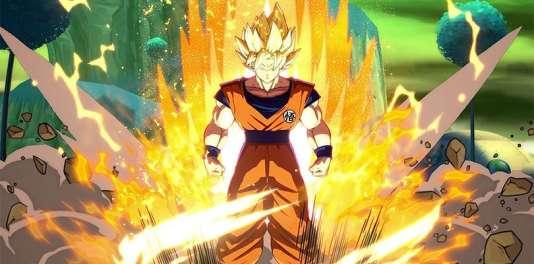 Son Goku dans« Dragon Ball FighterZ», semble tout droit sorti du dessin animé – il s'agit pourtant d'une scène de combat.