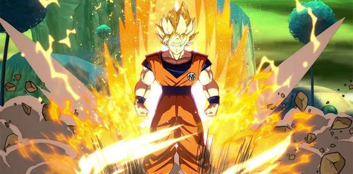 Jeu vid o dragon ball fighterz vibrant hommage au - Tout les image de dragon ball z ...