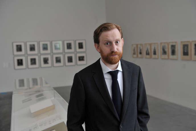 Simon Baker, nouveau directeur de la Maison européenne de la photographie (MEP), à Paris.
