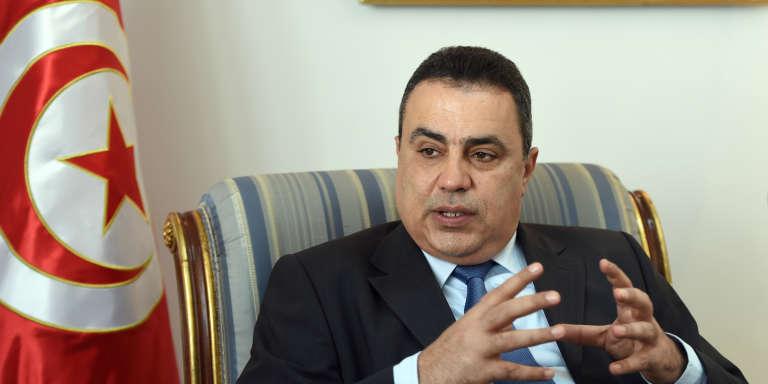 L'ancien premier ministre tunisien, Mehdi Jomaa, en janvier 2015 à Tunis.