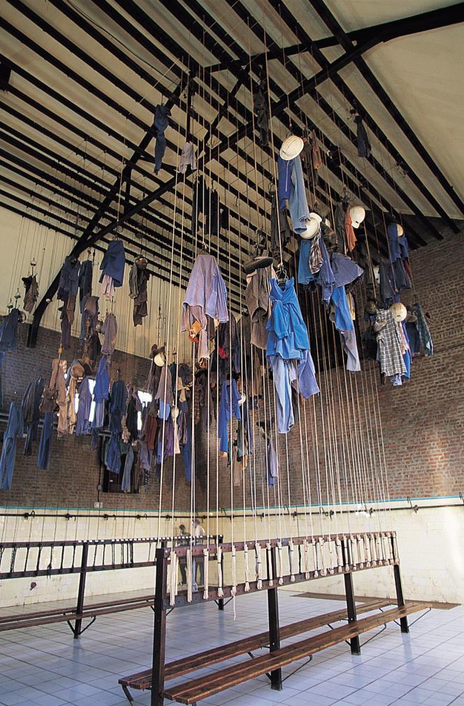 Les mineurs accrochaient leurs vêtements dans la «salle des pendus».