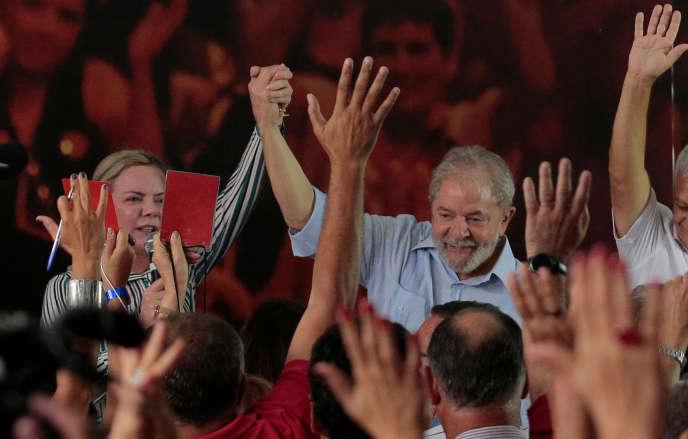 Lula le 25 janvier.