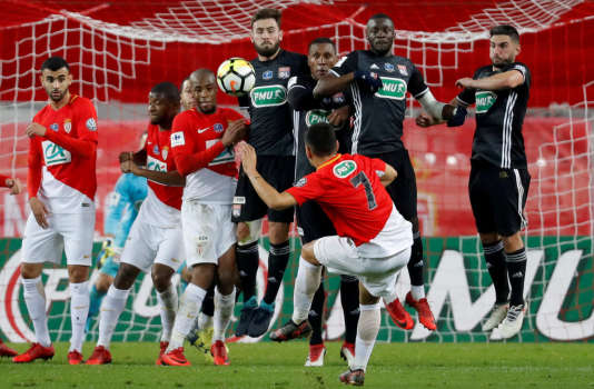 Lors de leur dernier déplacement à Monaco, le 24janvier en Coupe de France, Lyon s'est imposé 3 à 2.