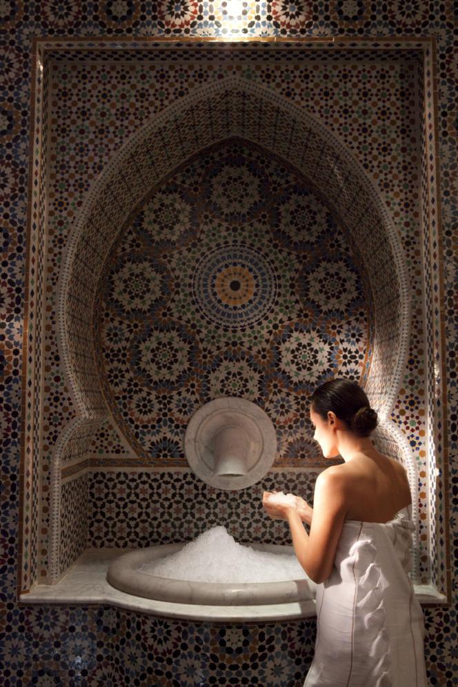 Le spa du Es Saadi Palace, à Marrakech.