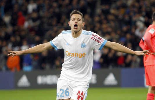 Cette saison, Florian Thauvin a inscrit dix buts et offert neuf passes décisives.