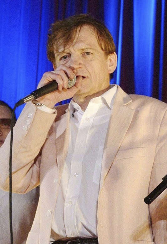Le chanteur Mark E. Smith en juin 2005.