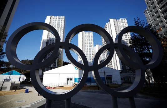 Le village olympique à Gangneung, en Corée du Sud.