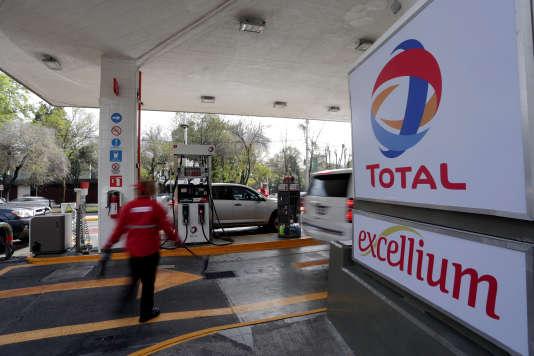 Une station-service Total, au Mexique.