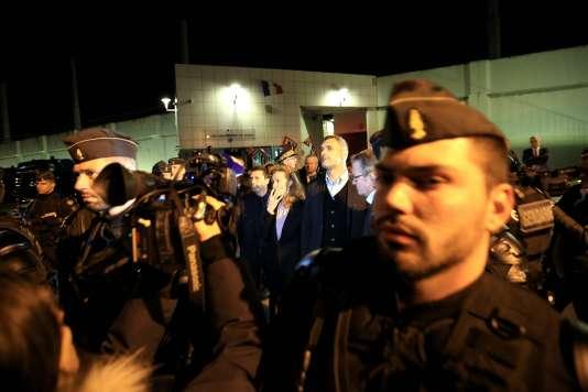 La ministre Nicole Belloubet huée lors de sa venue au centre pénitentiaire de Borgo (Haute-Corse), le 29 janvier.