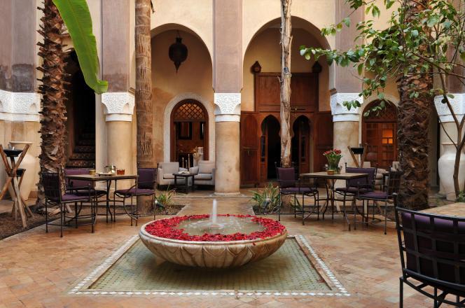 La Villa Nomade, au nord de la médina, dans le quartier de Bab Taghzout.