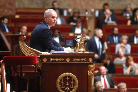 Le président de l'Assemblée nationale,François de Rugy, à Paris, le 26 septembre 2017.