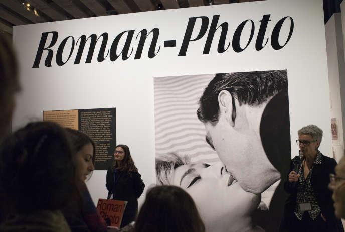 Exposition« Roman-photo» au MuCEM, à Marseille, jusqu'au 28 avril.