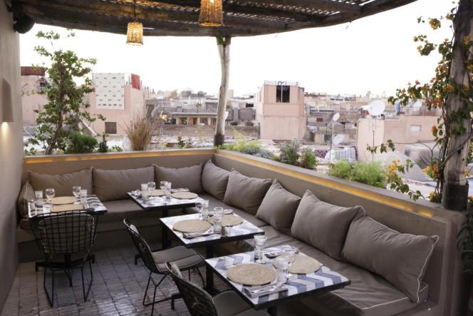 Le restaurant NoMad, à Marrakech.