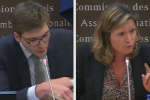 Le jeune député venait présenter un texte dont il est co-rapporteur. Il s'est embourbé dans des remarques sexistes avoir été sermoné par la présidente de la commission des lois.