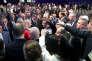 Emmanuel Macron au Forum économique mondial de Davos (Suisse), le 24 janvier.