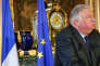 Le président du Sénat, Gérard Larcher, à Paris, le 24 janvier.