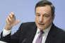 Mario Draghi, le président de la BCE, le 25 janvier, à Francfort