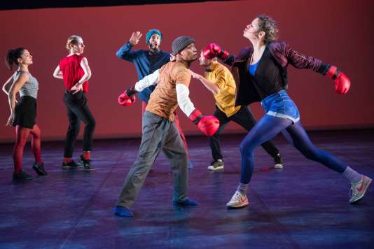 « 25 ans de hip-hop», un spectacle chorégraphié par Farid Berki dans le cadre du festival Suresnes Cités Danse.