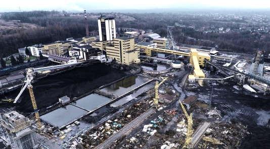La mine de charbon Janina, exploitée jusqu'en janvier 1945 par des déportésd'Auschwitz.