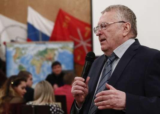 Vladimir Jirinovski, le 26 janvier à Moscou.