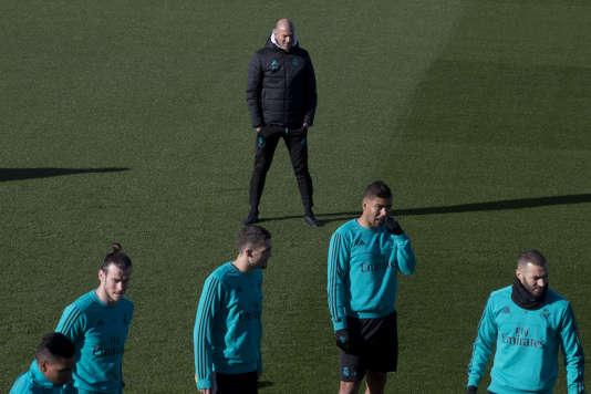 Zinédine Zidane, le 26janvier.