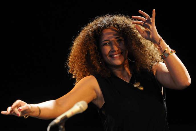 La chanteuse belgo-tunisienne Ghalia Benali.