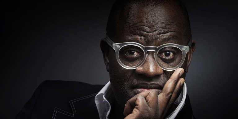 L'écrivain franco-congolais Alain Mabanckou, à Paris, en juillet 2015.