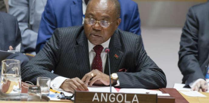 Manuel Domingos Augusto aux Nations unies en 2017.