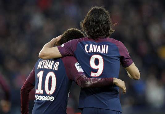 Edinson Cavani et Neymar.