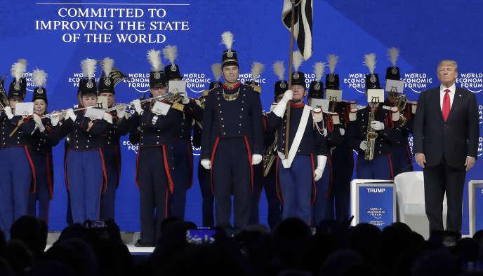 Donald Trump, à Davos (Suisse), le 26 janvier.