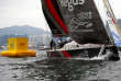 Le défi local Scallywag a remporté l'étape de Hong Kong de la Volvo Ocean Race.
